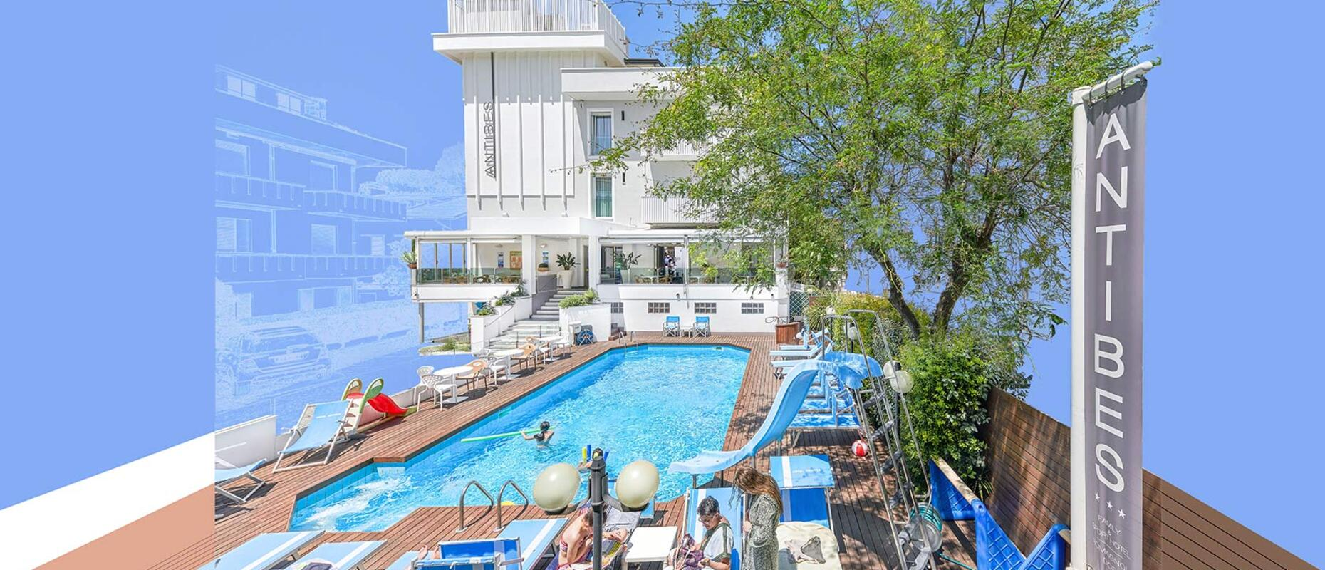 Hotel 3 stelle riccione antibes il tuo hotel con piscina - Hotel riccione con piscina coperta ...