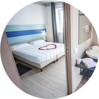 Camera romantica Hotel Oceanomare