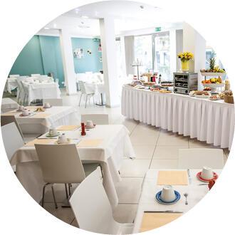 Il ristorante dell'Hotel Oceanomare