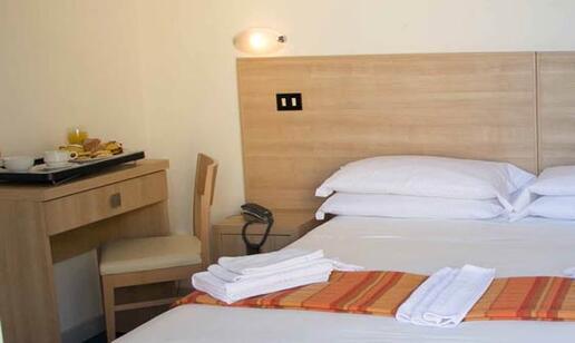 Suite at the hotel in Rimini