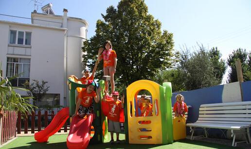 Amusement park in Rimini