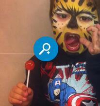 Maquillage enfants � l'h�tel � Rimini