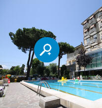 Hotel with a swimming pool in Rimini