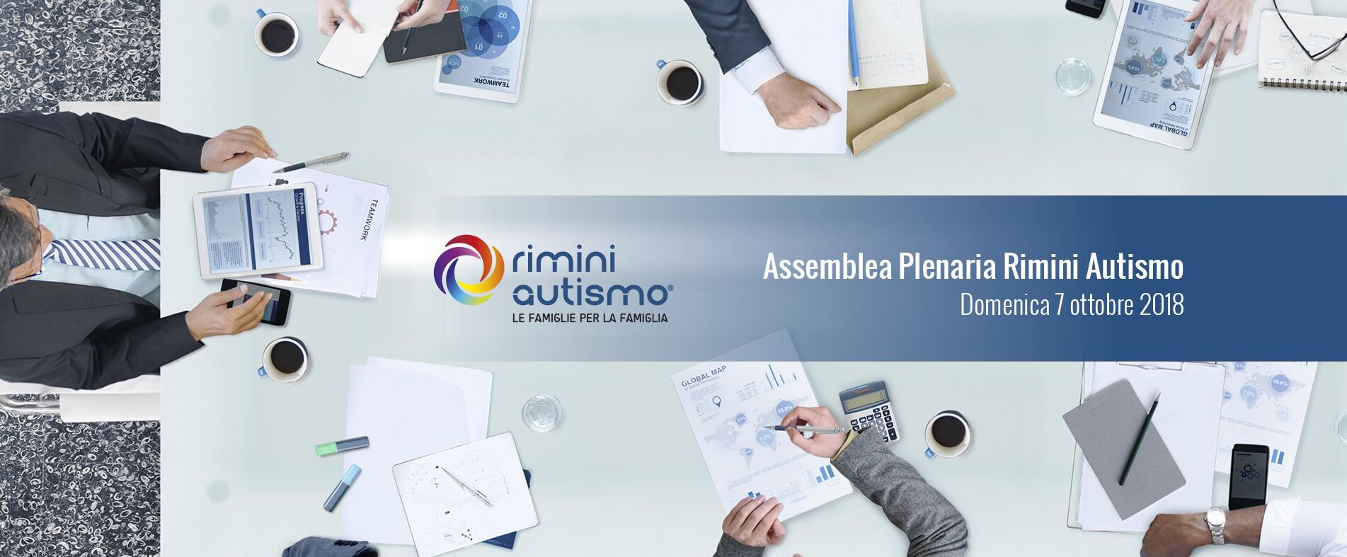 Assemblea Plenaria Rimini Autismo nuovo consiglio direttivo