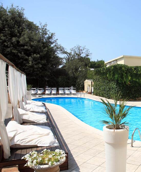 4 star hotel with swimming pool rimini plunge into the pool of villa adriatica hotel in rimini