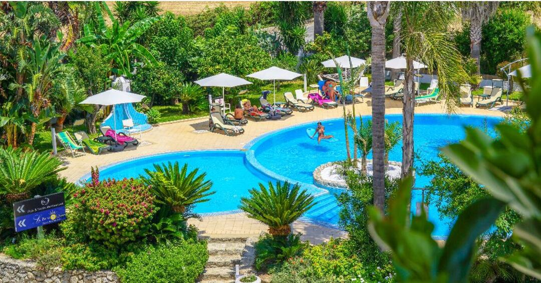 Hotel Swimming Pool Tropea
