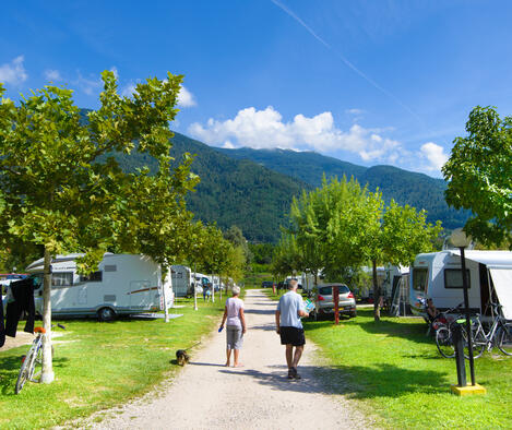 Pitch Lago Levico Camping Village