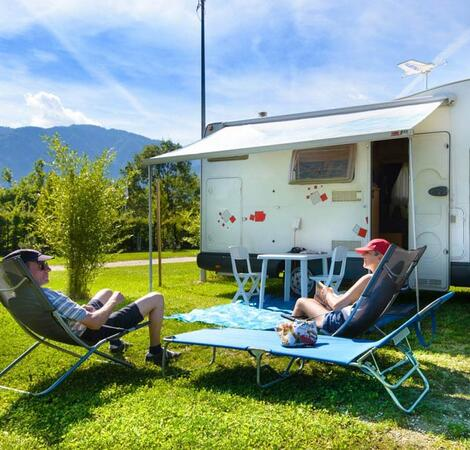 Camperstop in Trentino