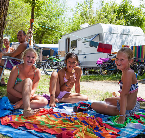 Family Camping in Trentino