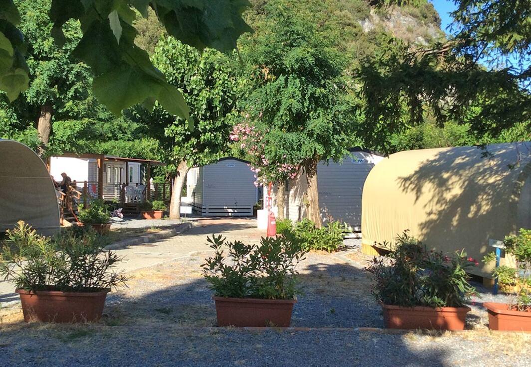 Campeggio in Liguria