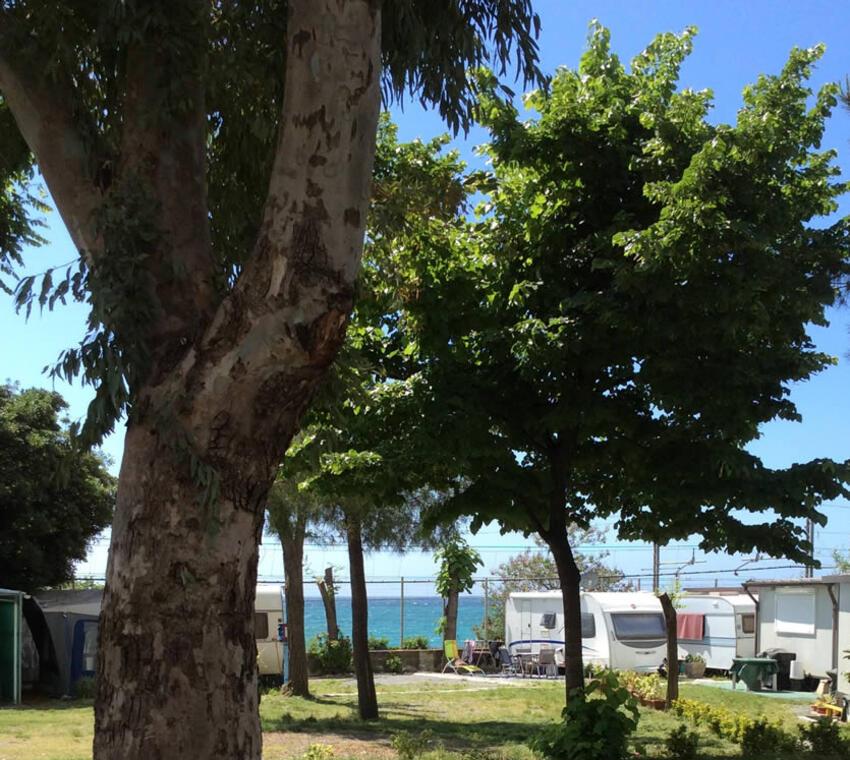 Campeggio in Liguria sul mare