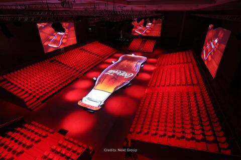 event, temporary design, show