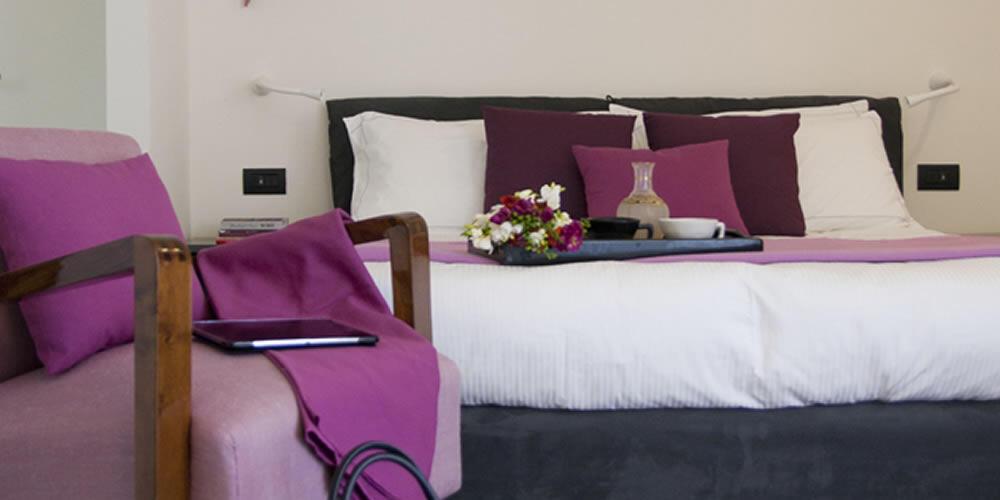 Camera superior in boutique hotel a Cagliari