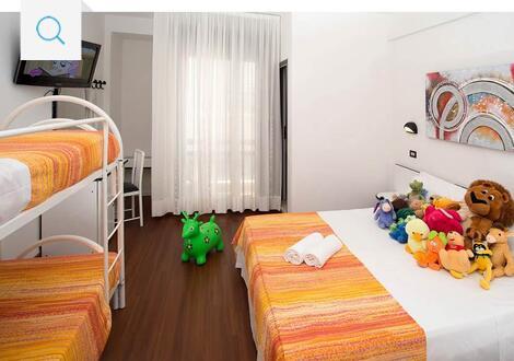 Mini Kühlschrank Zimmer : 3 sterne hotel in riccione mit klimaanlage: gemütliches ambiente für