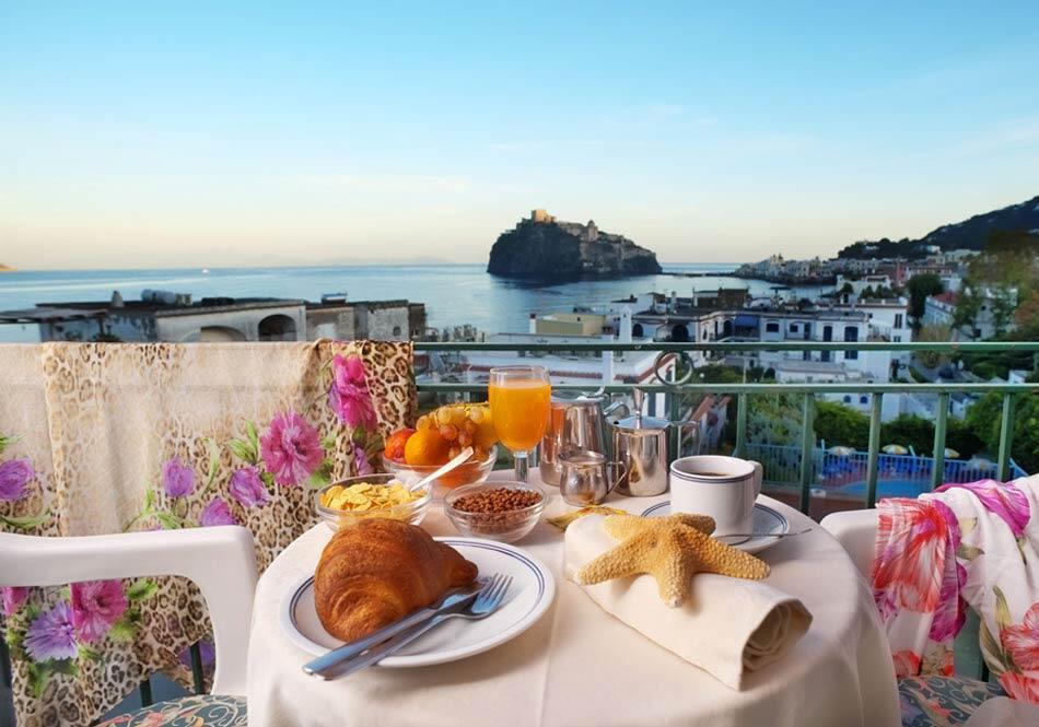 Hotel 3 stelle a Ischia Ulisse vicino alla spiaggia e al centro