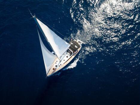 Ausflug mit dem Segelboot