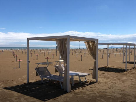BEACH with GAZEBO of around 30 m2